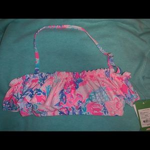 Lilly Pulitzer swim top!